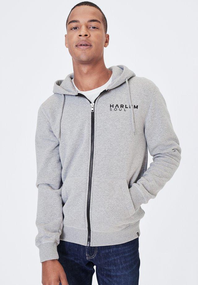 MAD-RID - Zip-up hoodie - grey melange