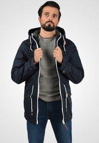 Solid - TILAS - Winter jacket - dark blue - 2