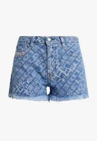 DE-RIFTY SHORTS - Denim shorts - indigo
