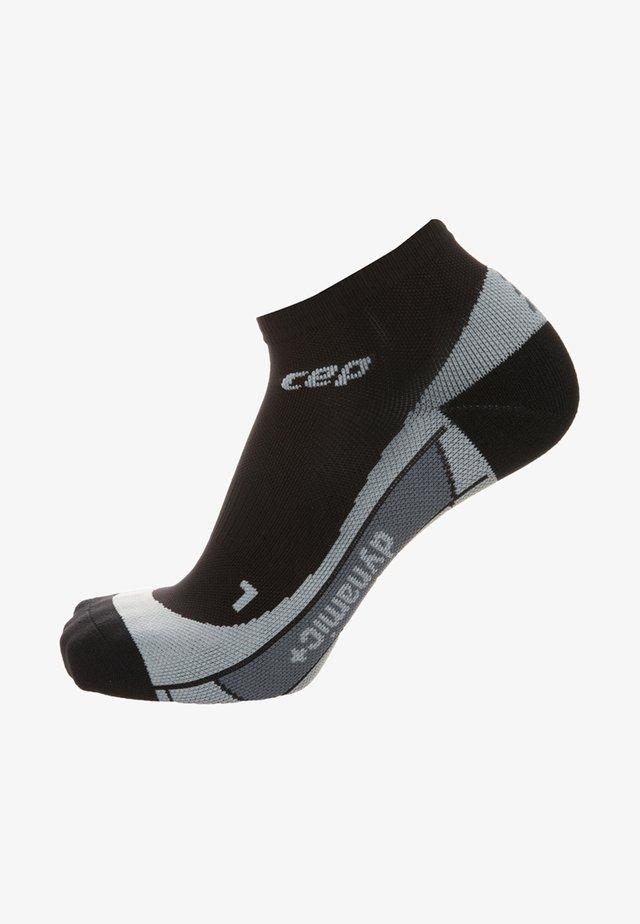 Trainer socks - black / grey
