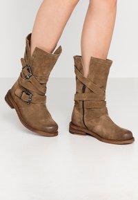 Felmini Wide Fit - GREDO - Cowboy/Biker boots - momma - 0