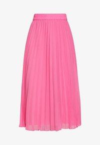 LAURA PLISSÉ SKIRT - Faltenrock - pink