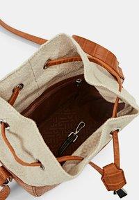 Esprit - Across body bag - caramel - 4