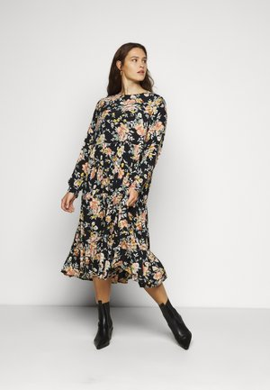 PCMAGGI MIDI DRESS  - Day dress - black