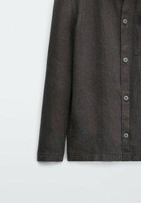 Massimo Dutti - Shirt - dark grey - 4
