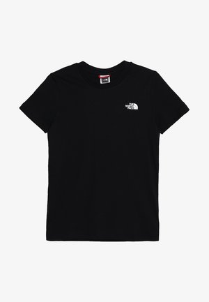 SIMPLE DOME TEE UNISEX - Print T-shirt - black