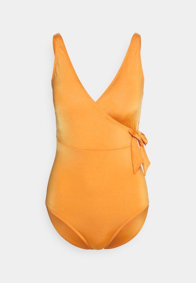 Swimsuit - shiny bronze