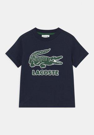 TEE LOGO UNISEX - Print T-shirt - navy blue