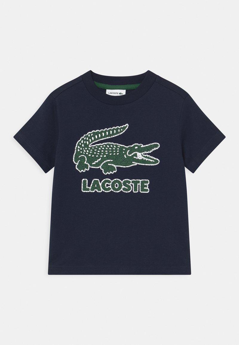 Lacoste - TEE LOGO UNISEX - T-shirts print - navy blue
