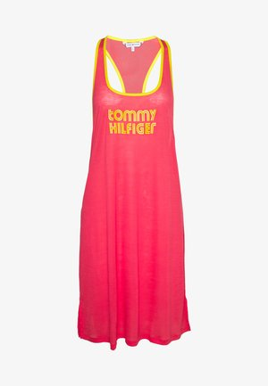 POP TANK DRESS SHORT - Nightie - laser pink