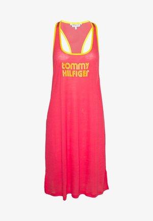 POP TANK DRESS SHORT - Nightie - laser pink