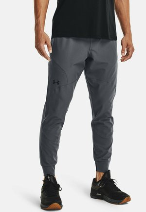 UA FLEX WOVEN JOGGERS - Tracksuit bottoms - grey