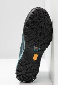 Mammut - DUCAN HIGH GTX WOMEN - Hiking shoes - dark waters - 4