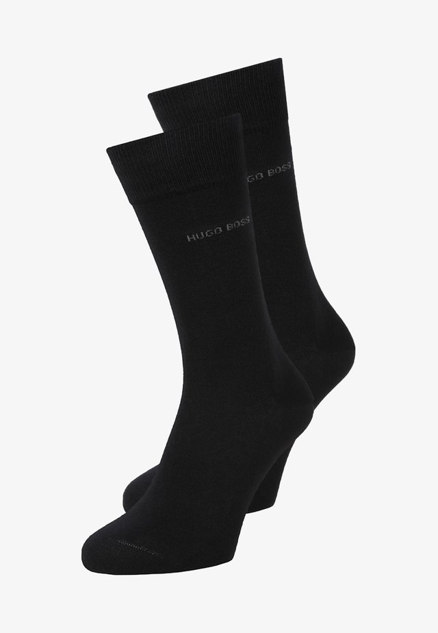UNI 2 PACK - Socks - black