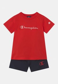 Champion - AMERICAN CLASSICS SET UNISEX - Sports shorts - red - 0