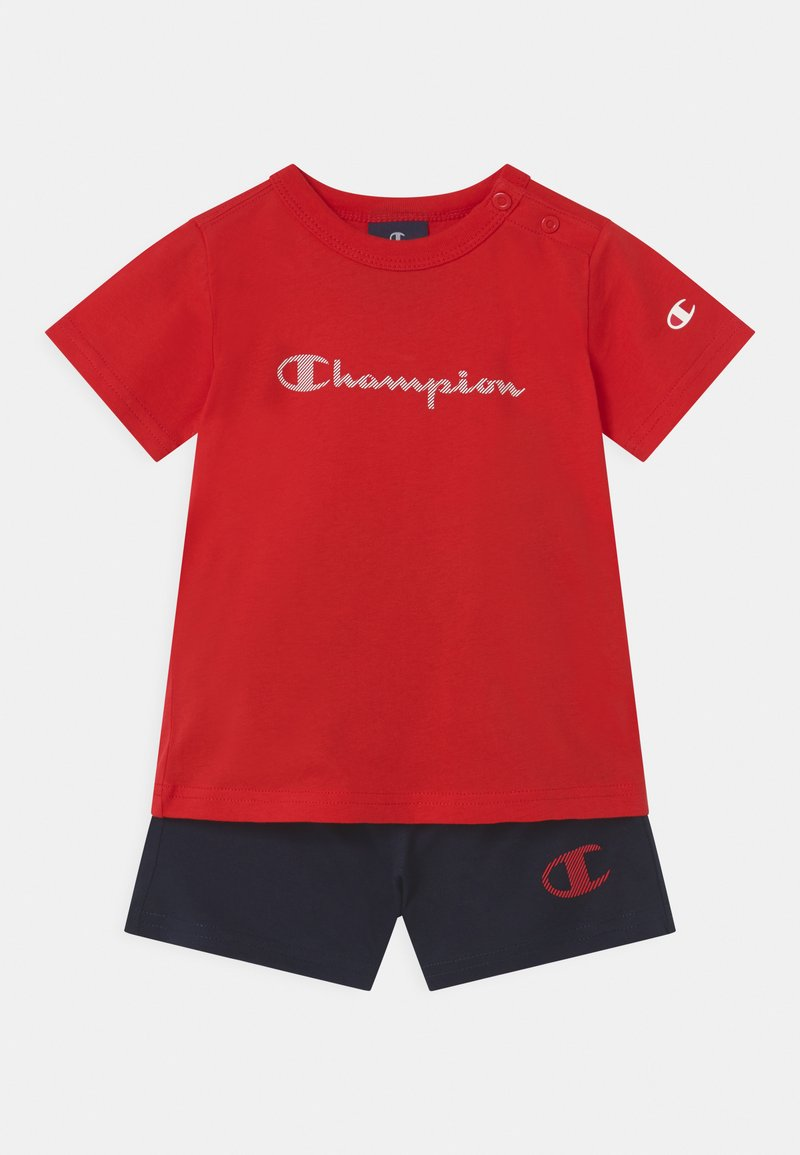 Champion - AMERICAN CLASSICS SET UNISEX - Sports shorts - red