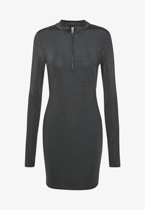 BIKER DRESS - Robe en jersey - grey