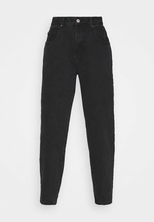 SLOUCH MOM - Relaxed fit jeans - midnight black