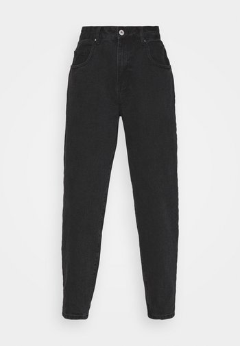 SLOUCH MOM - Jeans Relaxed Fit - midnight black