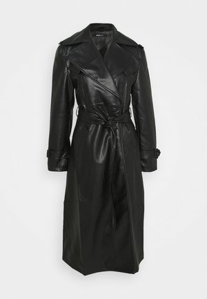 NORA COAT - Trenchcoat - black