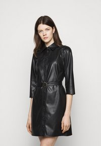 Patrizia Pepe - ABITO DRESS  - Shirt dress - nero - 0