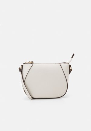 ZIP TOP CROSS BODY - Across body bag - stone