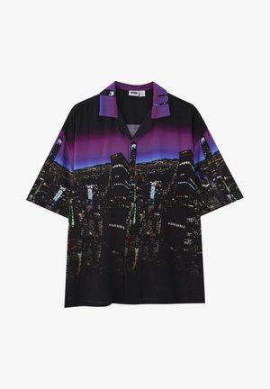 MIT STÄDTEMOTIV - Shirt - black