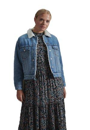 BOYFRIEND  - Denim jacket - sullivan indigo aged