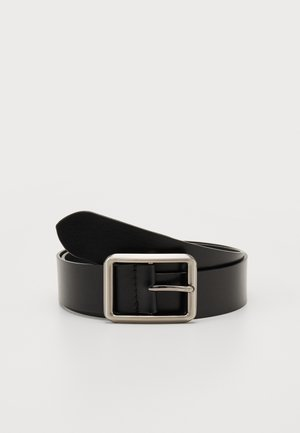 UNISEX LEATHER - Belt - lack
