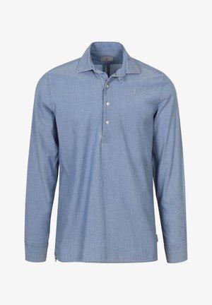 TERRY POLERA - Shirt - denim