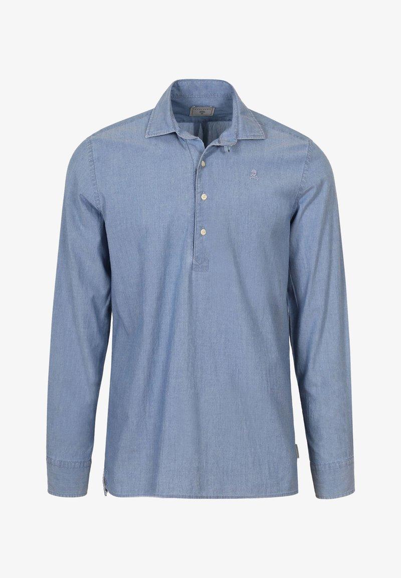 Scalpers - TERRY POLERA - Overhemd - denim