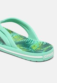 Crocs - TROPICAL - Pool shoes - white/multi - 5
