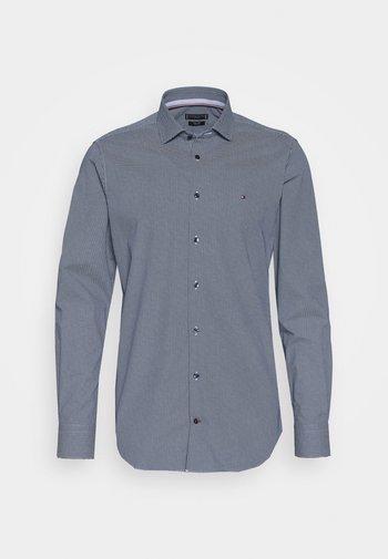 MICRO PRINT CLASSIC SLIM - Kostymskjorta - blue