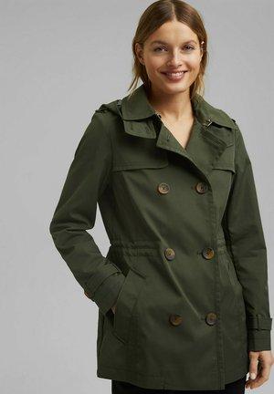 Trenchcoat - khaki green