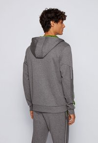 BOSS - SAGGY - Zip-up hoodie - grey - 2