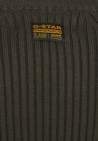 G-Star - PLATED LYNN DRESS MOCK - Shift dress - algae - 5