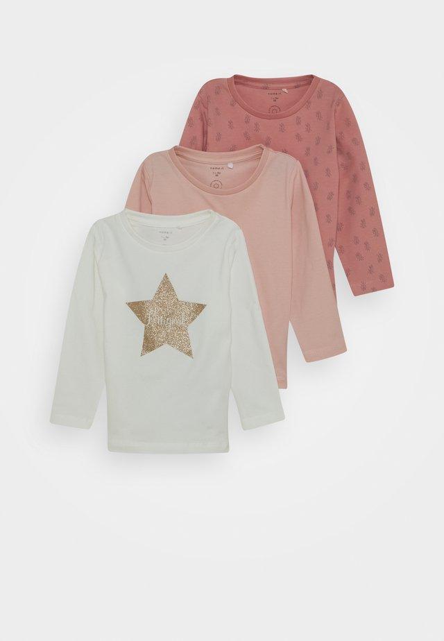 NBFKAJA  3 PACK - Long sleeved top - blush