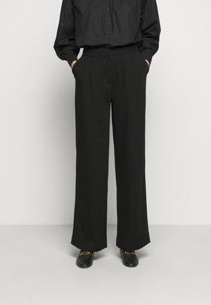 MILLE - Pantalones - black