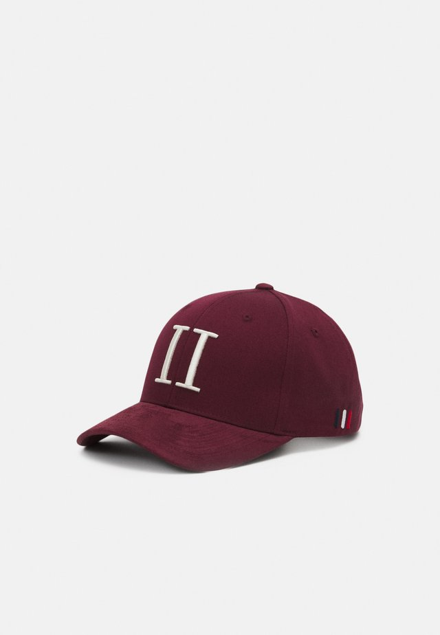 BASEBALL  - Cap - burgundy/off white