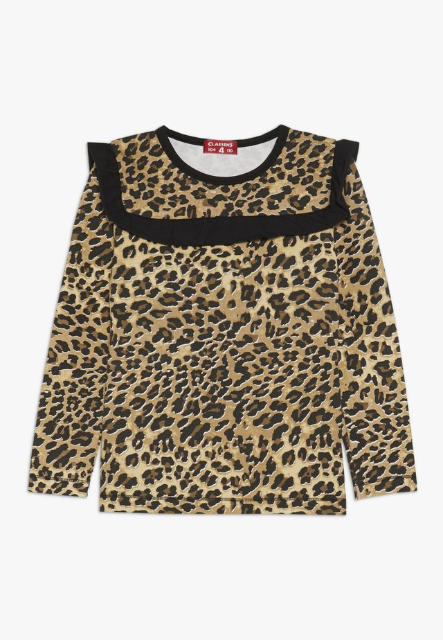 LONGSLEEVE  - Camiseta de manga larga - brown