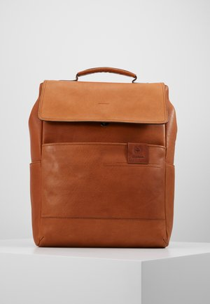 HYDE PARK BACKPACK - Rucksack - cognac