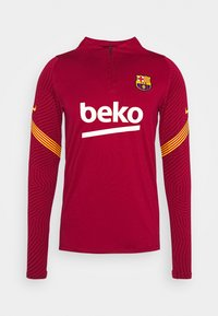 Nike Performance - FC BARCELONA DRY  - Equipación de clubes - noble red/amarillo - 4
