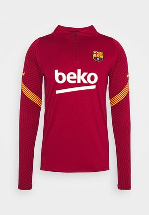 FC BARCELONA DRY  - Klubbkläder - noble red/amarillo