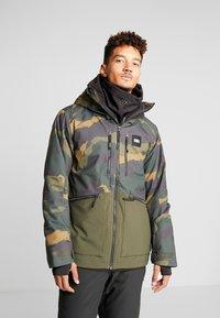 O'Neill - TEXTURED JACKET - Veste de snowboard - green - 0