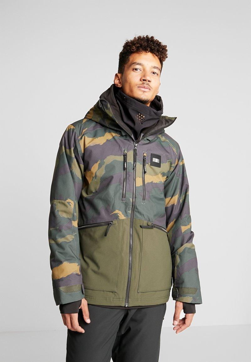 O'Neill - TEXTURED JACKET - Veste de snowboard - green