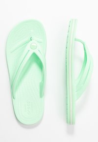 Crocs - CROCBAND - Pool shoes - neo mint - 3