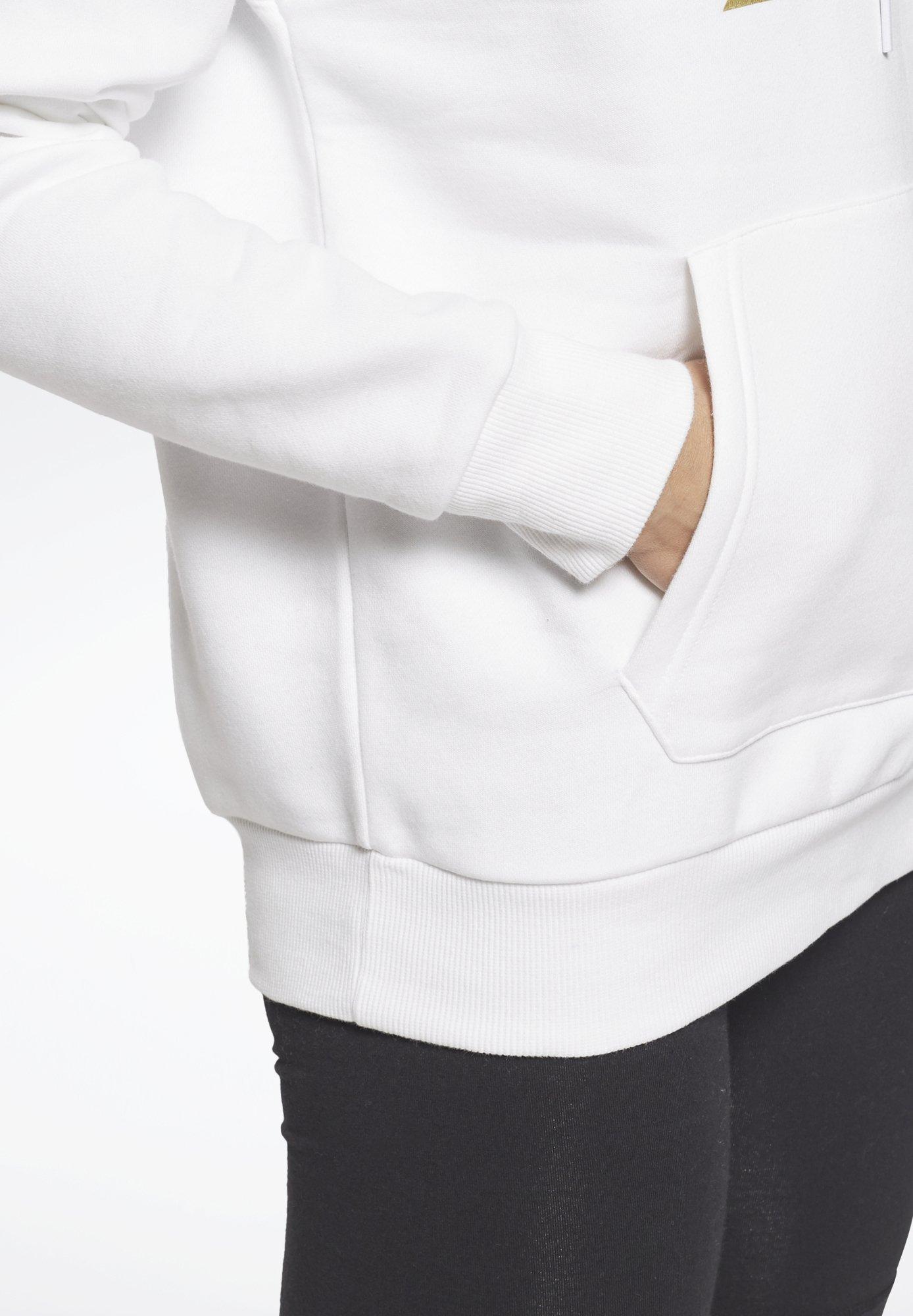 Women REEBOK IDENTITY LOGO FLEECE HOODIE - Sweatshirt