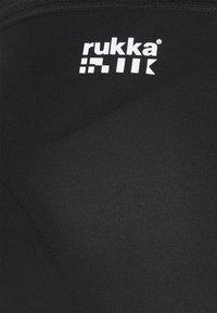 Rukka - RUOVE - Sportovní kraťasy - black - 5