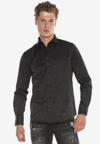 Cipo & Baxx - Formal shirt - schwarz - 5