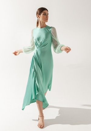 Day dress - turquoisa